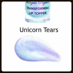 Too Faced Makeup - 🦄 Too Faced Unicorn Tears Mystical Lip Topper